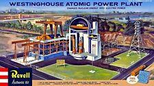 1960s REVELL Westinghouse Atomic Power Plant model box magnet - new!