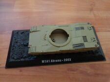 ATLAS AMERCOM 1/72 M1A1 ABRAMS 2003 IRAQ US ARMY DIECAST TANK SPARES/REPAIRS
