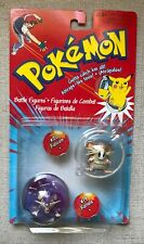 "Pokémon Hasbro Tomy 2"" Figures, Authentic, Vintage, Rattata & Raticate Sealed"