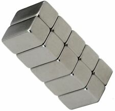 10 Neodymium Magnets 1/2 x 1/4 x 1/4 inch Block N48 Rare Earth