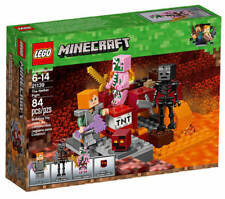 LEGO® Minecraft® 21139 Nether Abenteuer NEU & OVP Alex Zombie Pigman Wither TNT