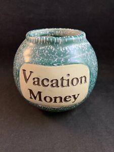 Vacation Money Handmade Stoneware Ceramic by Muddy Waters Pottery