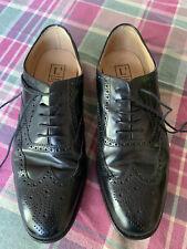 mens shoes size 9.5, Black, Loake