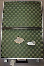 Vintage Challenger Padded Gun Equipment Hard Plastic Brief Case Damaged NOS