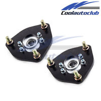 Adj. Camber Plates For Nissan S13 S14 Silvia 180SX 200SX 240SX 89-98 Top Mount