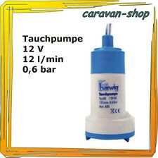 Tauchpumpe 12 V 12 l/min Trinkwasser Frischwasser, Wohnwagen Wohnmobil Kanister
