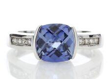9 Carat Gold Sapphire & Diamond Ring Set