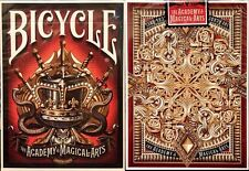 NEW Bicycle Academy of Magical Arts Playing Cards - The Magic Castle - Very Rare