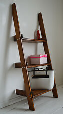 Unit Storage Display, Hand Made, Wooden Ladder, Shelving.