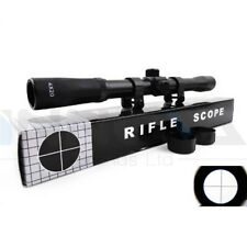 Rifle Scope Lunette de Visée 4 X 20 pour fusils arbalètes Airsoft Air Rifles New