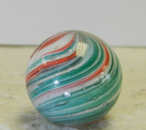 #13956m Vintage German Handmade Oniosnkin Mica Marble .78 Inches