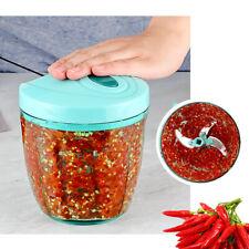 Kitchen Food Chopper Spiral Slicers Shredder Fruit Vegetable Manual Cutter Tool
