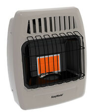 Kozy World KWP210  6,000 BTU 1 Plaque PROPANE Infrared Vent Free Wall Heater