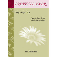 Pretty Flower Song Sheet Music Kerin Bailey and Dave Brown