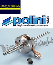 7260 - ALBERO MOTORE POLINI PEUGEOT 103 50 2T RCX - SPX - BICASBIA