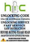 HTC NETWORK UNLOCK CODE VODAFONE AUSTRALIA Comet