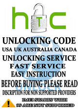 VERIZON UNLOCK SERVICE HTC ONE M7 M8 M9 M10 DESIRE A9 EVO X9 ANY MODEL