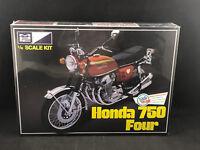 MPC Honda 750 Four 1:8 Scale Plastic Model Kit 827 New in Box