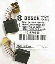 Véritable Bosch Balais de charbon pour ocv 14-1 GMC 10 GMC 12 GCM 8 SJ GTM 12 Scie S32A