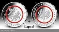 5 Euro Tropische Zone 2017 Münze G + Kapsel Klimazonen der Erde Sammlermünze Rot