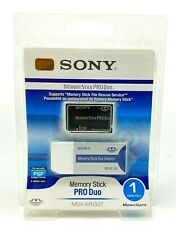 Sony Memory Stick Pro Duo 1GB (MSX-M1GST) + Reader Brand New