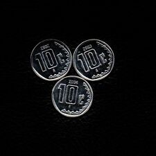 (3) 10 Centavos 2002-2003  & 2004  Mexico Ship 50Cts Per item Added