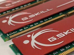G.Skill RAM 6GB 3x2GB F3-12800CL9T-6GBNQ Performance DDR3-1600MHz CL9-9-9 1.50V