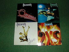 NAZARETH - SET OF 4 ROCK ALBUM COVER FRIDGE MAGNETS