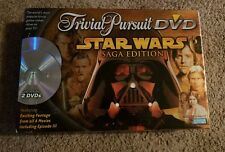 Trivial Pursuit DVD Star Wars Saga Edition Parker Brothers Preowned Complete