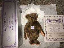Steiff Teddy Bear 1906 Replica Limited Edition 328 / 1000 FAO Schwartz