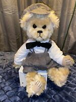 "Nona's Bears Artist Bear  ""Simon"" One of a Kind Antique Beautiful Bear 19"" Tall"