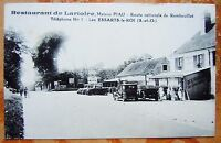 CPA 78 YVELINES - LES ESSARTS LE ROI - RESTAURANT DE LARTOIRE -  VOITURES