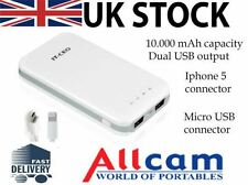 Allcam U6710 10.000mAh Chargeur Portable Externe Power Bank Batterie De Secours