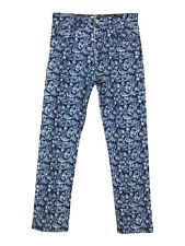 NEW Isabel Marant Etoile embroidered floral straight fit jeans