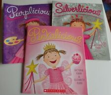 Lot of 3 PINKALICIOUS SERIES BY VICTORIA HANN soft cover books