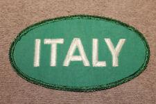 "Large Original WW2 U.S. Gov't Issued ""ITALY"" POW Uniform Cloth Patch"