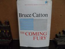 THE COMING FURY - 1961 - 1ST EDITION - BRUCE CATTON - HISTORY OF CIVIL WAR (HC)