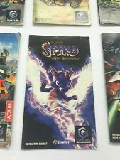NINTENDO GAMECUBE Legend of Spyro: A New Beginning Booklet Game Instructions