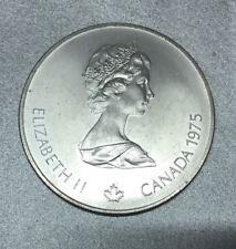 "CANADA 5 DOLLAR J.O MONTREAL ( JEUX OLYMPIQUES ) 1976 "" LANCER JAVELOT "" ARGENT."