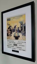 Oasis Definitely Maybe Framed Artwork-Ltd Edition-Certificate-Liam Gallagher