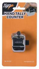 4 Digit Hand Held Tally Counter Clicker Manual Mechanical w/ Finger Ring