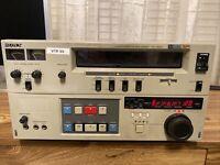 Sony VO-9800 Video Cassette Recorder U-Matic SP Parts or Repair Unit VHS #2