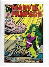 Marvel Fanfare #48 (1989) High Grade VF 8.0