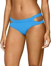 Seafolly Womens Swimwear Blue Size 8 Cut Out Tab Hipster Bikini Bottom $58 330