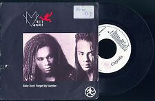 BABY DON'T FORGET MY NUMBER - TOO MUCH MONKEY BUSINESS # MILLI VANILLI