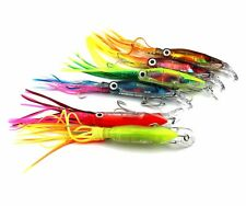 6 x 3D Fishing Lures Carp Bait Wobbler Fish Minnow Bass Crankbait Trout 1# Hook