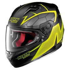 CASCO INTEGRALE NOLAN N64 N-64 HEXAGON - 85 FLAT BLACK TAGLIA XS