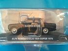 "DIE CAST "" ALFA ROMEO GIULIA 1600 SUPER - 1970 "" SCALA 1/43 CARABINIERI"