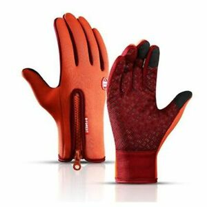 Unisex Winter Sports Gloves Touch Screen Rain-proof Warmth Riding Cycling Mitten