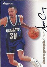 1996-97 Skybox Premium Autographics Dell Carry